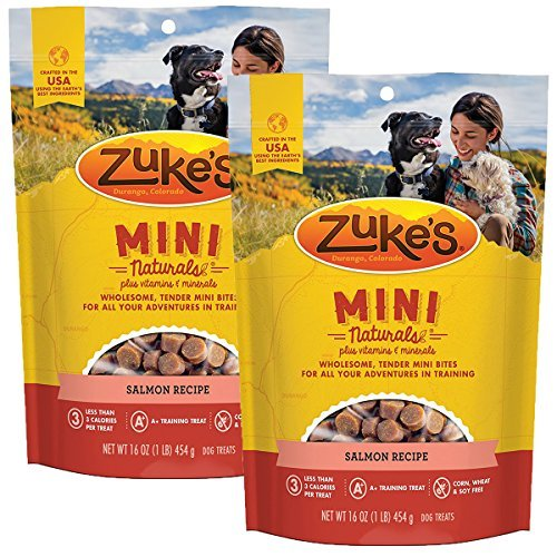 - Zuke's Mini Naturals Dog Treats