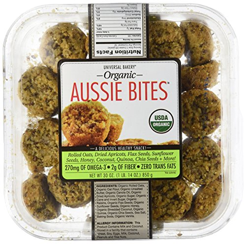 Rolled Oats Biscuits - Universal Bakery Organic Aussie Bites