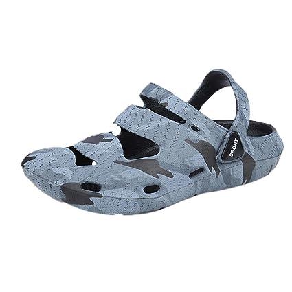 c453d8501c555 Amazon.com: Men's Sandals,Dainzuy Unisex Breathable Anti-Slip Hollow ...
