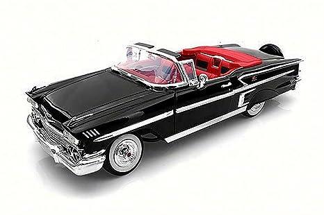 amazon com 1958 chevy impala convertible, black motor max 73112 Toyota Toy Cars image unavailable