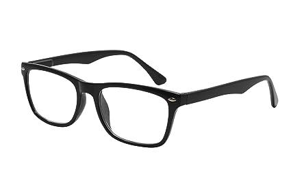 9708cb2698 TBOC Gafas de Lectura Presbicia Vista Cansada - Graduadas +3.00 Dioptrías  Montura de Pasta Negra de Diseño Moda para ...