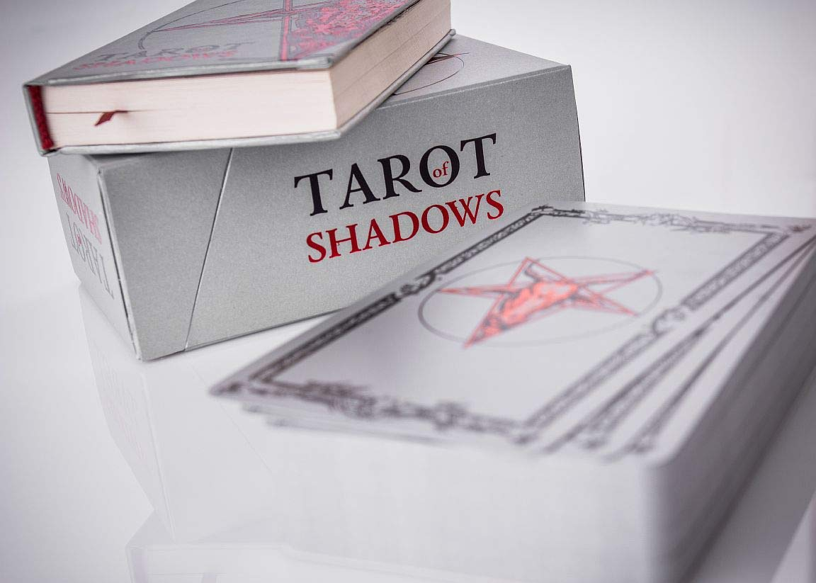 SLVR TRT Tarot Shadows Sklyarova Silver Trim + Book Gift Set with Box Easter Gift by SLVR TRT (Image #2)