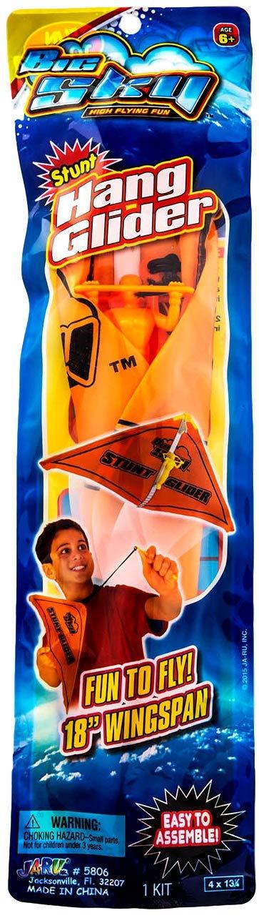 2GoodShop Slingshot Hang Glider Set (6 Pack Assorted Colors) Aerobatic Flying Toy for Kids | Item #5806-6