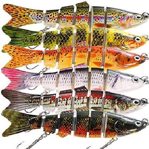 Best Fishing Lure : Lixada 7 Segment Lifelike Fishing Lure