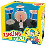 Johnson Smith Co. (Set) Mini Drumset - Touch Sensitive w/Sounds & Lights + AAA Batteries