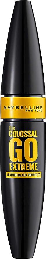 Oferta amazon: Maybelline New York The Colossal Go Extreme Radical Black Máscara de Pestañas Negra Volumen - 9.5 ml