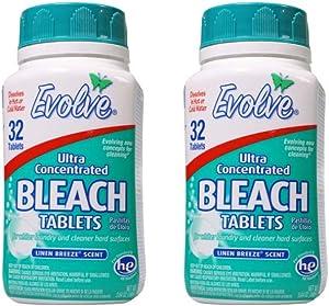 Evolve Original Scent Bleach Tablets (2, Linen Breeze)