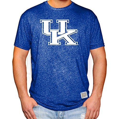 rsity of Kentucky Wildcats Retro Tshirt Blue - XL (Kentucky Wildcats Fan)