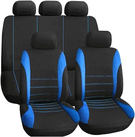 Completamente Rivestimenti Set Coprisedili Blu comfort di alta qualità per
