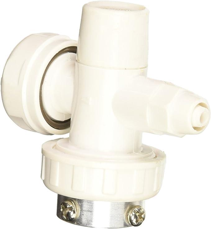 Filtro purificador de agua de plástico para cartuchos de cocina, color blanco: Amazon.es: Bricolaje y herramientas