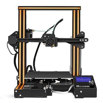 elegoo impresora 3d ender-3 FDM con marco impresora Prusa i3 de ...