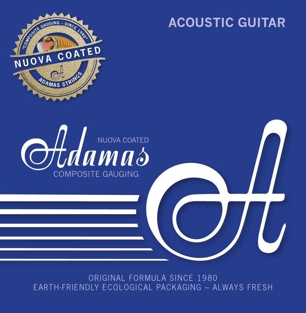 Adamas Cuerdas para Guitarra Acústica Nuova Cuerdas Sueltas de Acero con Recubrimiento .016