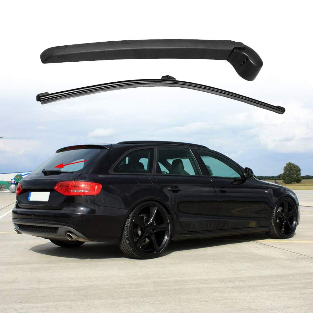 KKmoon - Kit de Repuesto para limpiaparabrisas Trasero y escobilla para Audi A4 B8 Avant 08-13: Amazon.es: Coche y moto