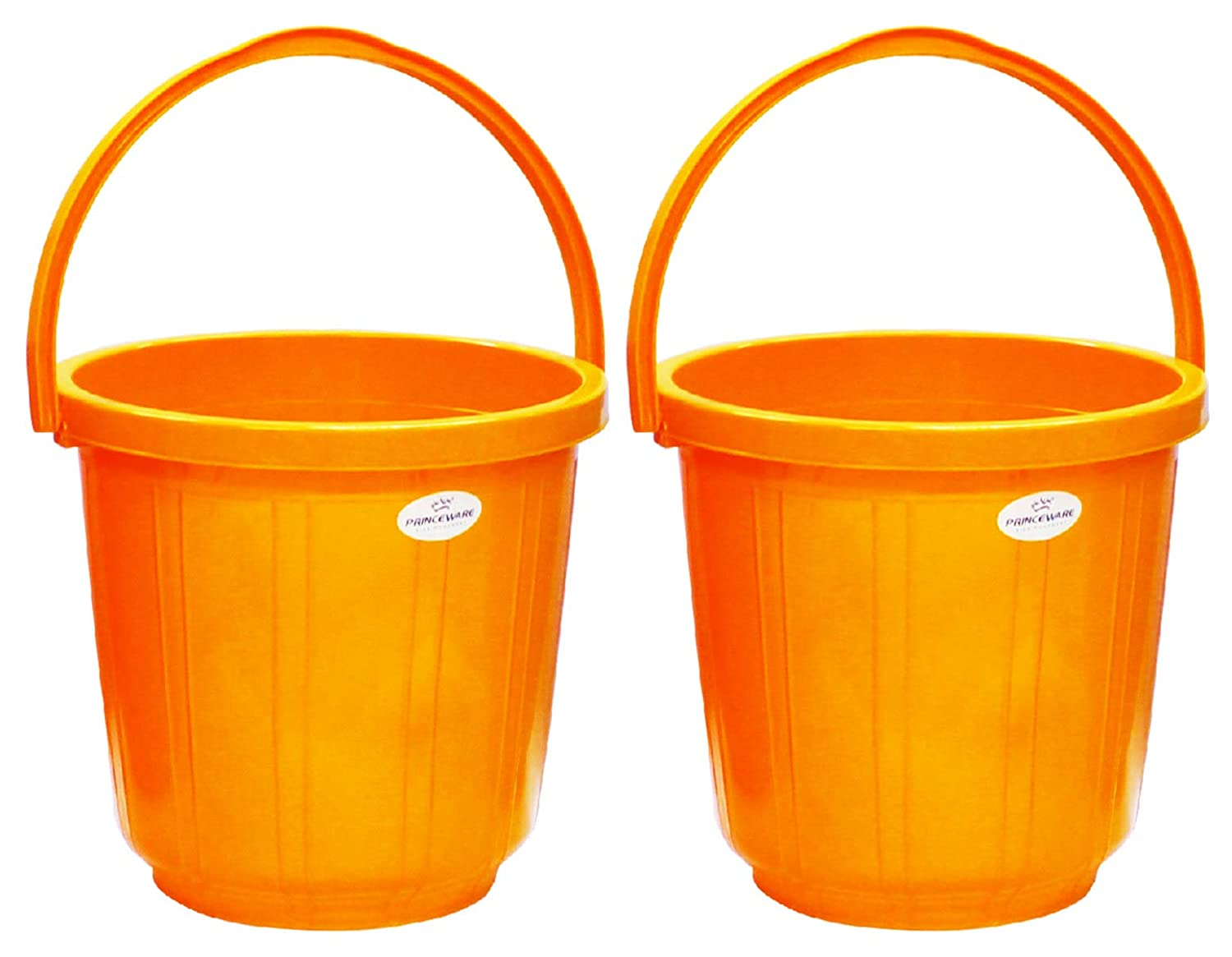 Princeware Super Delux Bucket Capacity 25 Ltrs – Set of Two