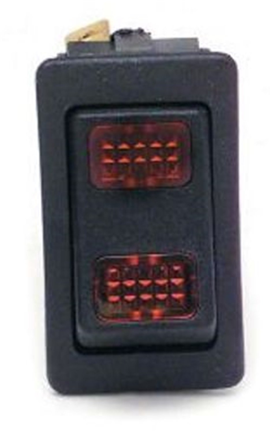 Painless 80402 Rocker Switch (On-Off-Momentary On/Green Lighted) by Painless
