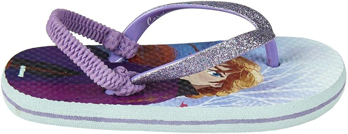 pantoufles mer piscine Tongs Flip Flop Produit original avec licence officielle Disney La Reine des neiges 2