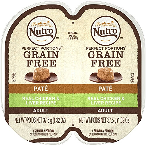Nutro Perfect PORTIONS Pate Real Chicken and Liver Wet Cat F