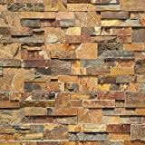 Koni Stone Citali Series Odra 4 sq. ft. Panel 6 in. x 24 in. x 0.80 in. – 1.20 in. Natural Stone