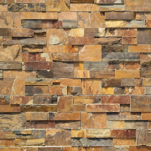 Koni Stone Citali Series Odra 4 sq. ft. Panel 6 in. x 24 in. x 0.80 in. – 1.20 in. Natural Stone by Koni Stone