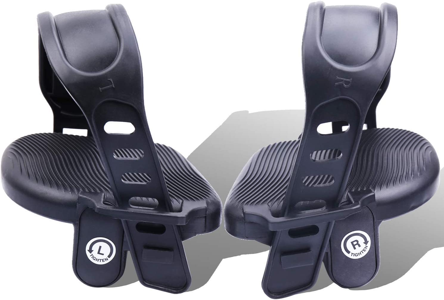 Universal 2er Bike Pedals Pedal Set Pedals Set for Bicycle with refekletoren