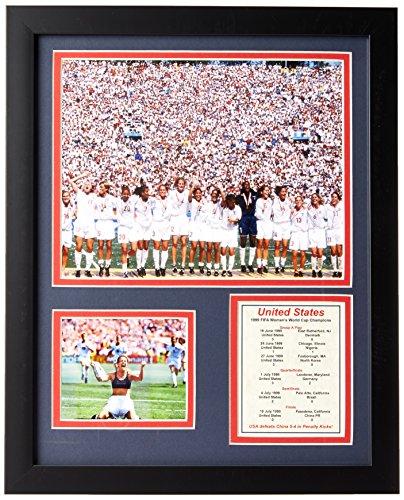 Legends Never Die Copa Mundial de Fútbol Equipo de los Estados Unidos Estados Unidos de la Mujer 1999Champions Foto...