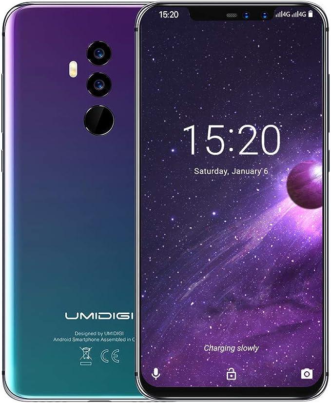 Amazon.com: Smartphone desbloqueado, UMIDIGI Z2 Dual 4G ...