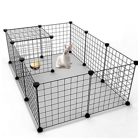 Mascota DIY Cercas para Mascotas Jaula para Perros Parque Infantil ...