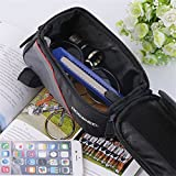 Cycling Bike Front Top Frame Pannier Tube Bag Case Pouch for Cell Phone