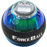 Gyroscope Wrist Ball Arm Exercise Strengthener LED Force Ball Wrist & Forearms With Speed Meter By Wincspace