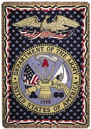 Simply Home U.S. Army Triple-Layer Throw Blanket ()