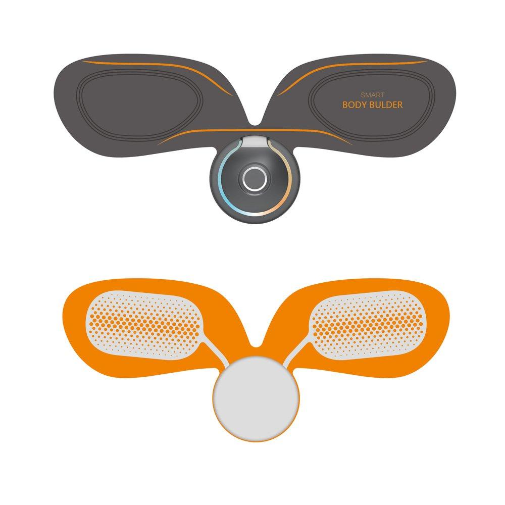 Stimulateur De Muscle sans Fil Dems Entra/îneur Abdominal Rechargeable De Ceinture avec Ceinture avec Contr/ôle Dapplication Via Bluetooth Cadeau pour Hommes Et Femmes!