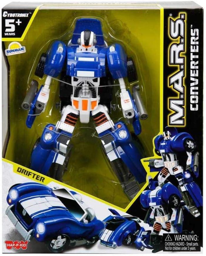 Converters Conversion Unit Robot Accelerator Silver Robot//Sports Car by Cybotronix M.A.R.S