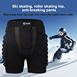 3D Padded Underwear Shorts Impact Protection Hip