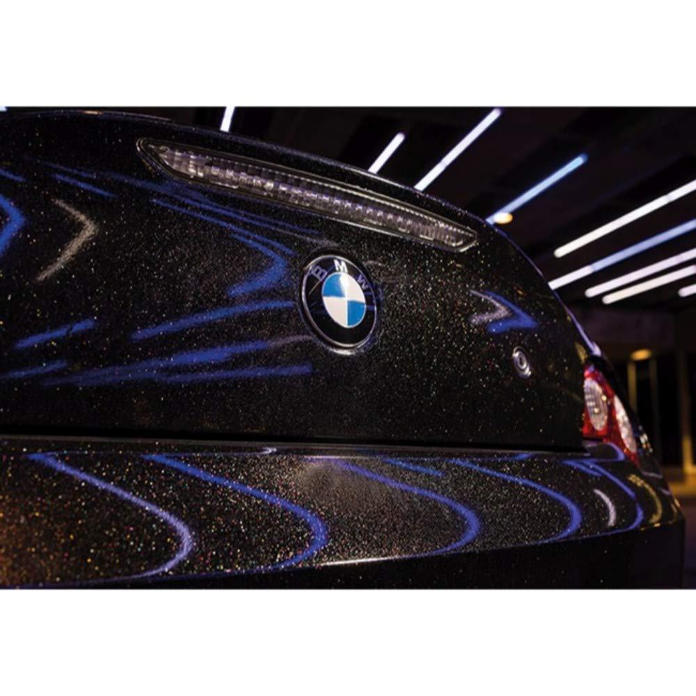 Vinyl CAR WRAP Film GP292 3M 1080 Gloss Galaxy Black Sample 2.5in x 4in