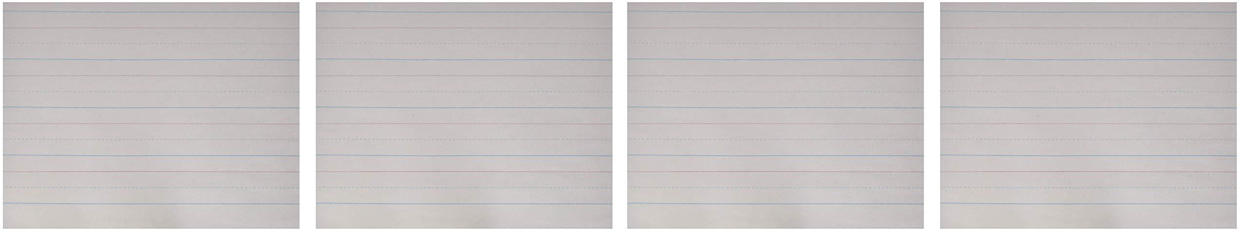 School Smart Zaner-Bloser Handwriting Paper, 10-1/2 x 8 Inches, 500 Sheets (Fоur Расk)