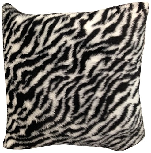 Zebra Toss Pillow - 1