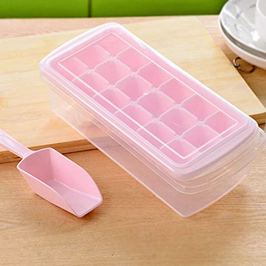 Molde de hielo 12/18 rejillas de plástico DIY rectangular sin olor ...