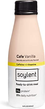 12-Pack Cafe Vanilla 14 Fl Oz Soylent Meal Replacement Shake Bottles