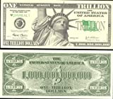 Liberty Trillion $1,000,000,000,000 Novelty Dollar Bill Collectible