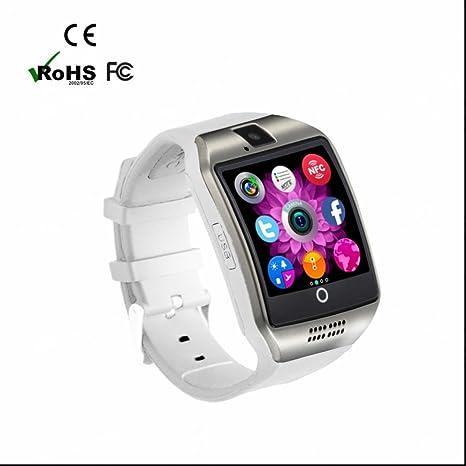 Reloj Intelligent Bluetooth smartwatch con Notificaciones de Mensajes/Monitor de Ritmo Cardíaco y Sueño/