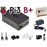 Pi3B+ スターター キット V2 RS黒 16GB