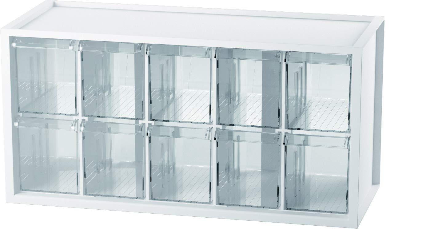 livinbox 10 Drawers Desktop Organizer Hardware