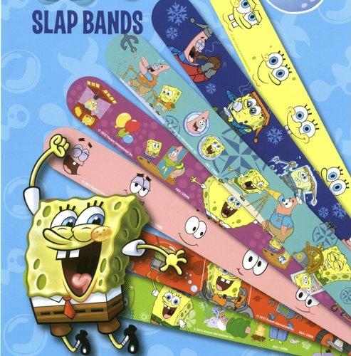 - Spongebob Figure Snap Bracelets / Wristbands Set of 12 different with Spongebob, Patrick, Plakton.. Etc