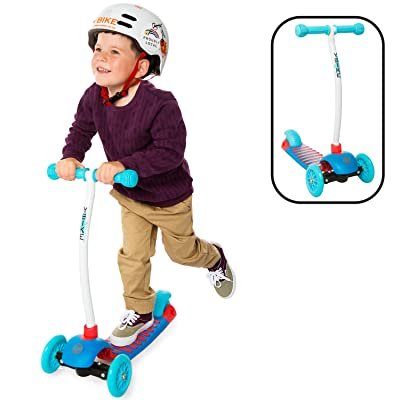 YBIKE Kids GLX  Cruze 3 Wheel Kick Scooter, Blue : Sports & Outdoors