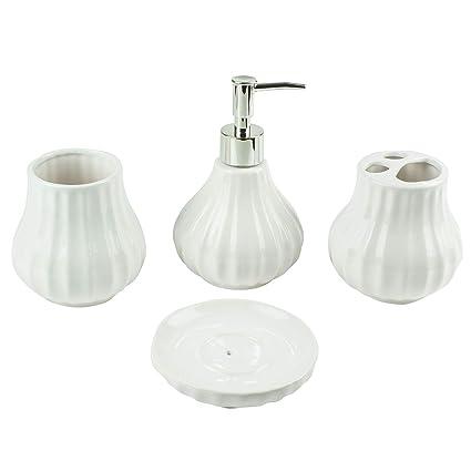Mosa Bouteille - Bad Accessoire Set, 4-teilig, Keramik ...