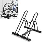 FIXKIT Râtelier Familial Pancher de Vélo Mur pour 2 Vélos Rack Stockage Verrouillage Support Garage