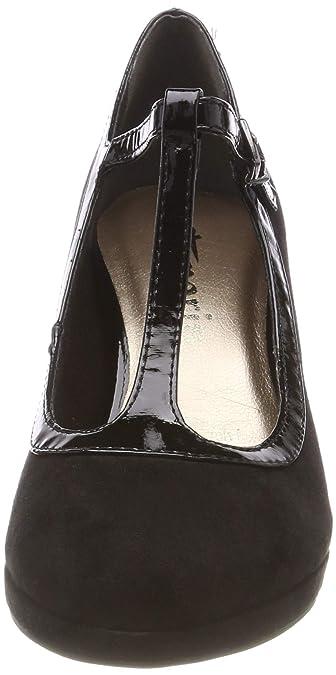 abbcdaff457d1a Tamaris Damen 24413-31 T-Spangen Pumps  Amazon.de  Schuhe   Handtaschen