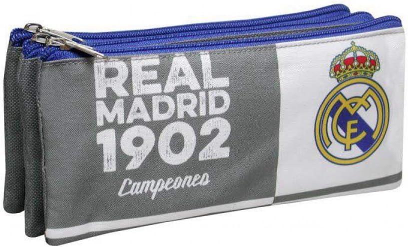Portatodo Real Madrid 1902 campeones triple: Amazon.es: Equipaje