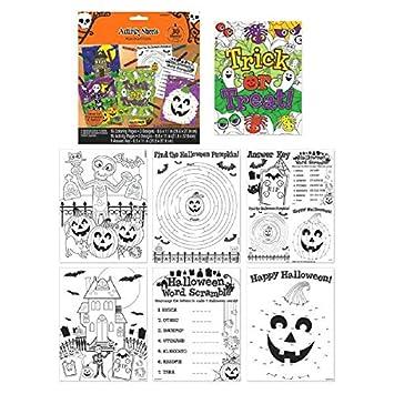 Halloween Activity Sheets: Amazon.co.uk: Toys & Games