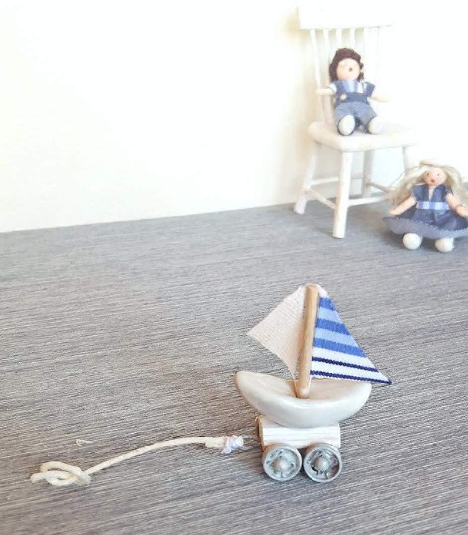 1:12 Dollhouse miniature toy ship